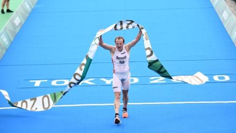 Blummenfelt remporte le triathlon, le Canadien Mislawchuk 15e