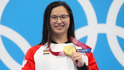 Une 1re médaille d'or pour le Canada à Tokyo grâce à Mac Neil