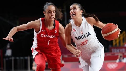 Défaite pour l'équipe de basketball féminin à son 1er match