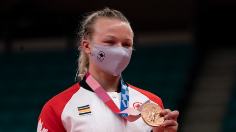 Klimkait écrit l'histoire avec le bronze ; Margelidon rate la médaille