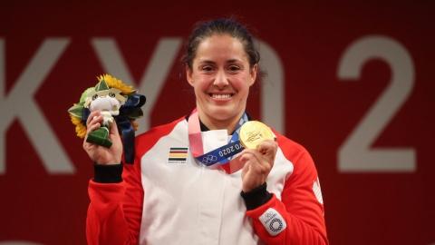 D'un garage à l'or olympique pour Maude Charron