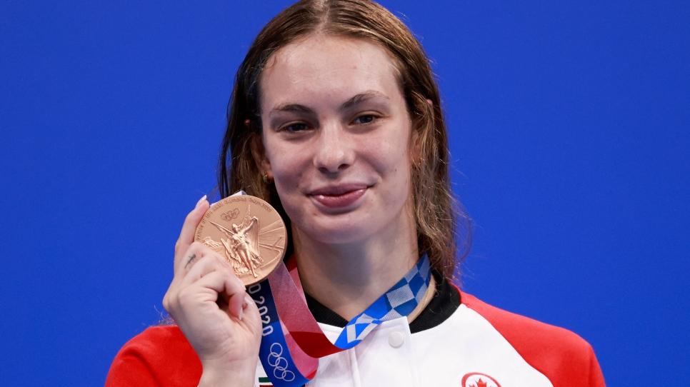 Le bronze pour Oleksiak au 200 m libre; 6e médaille olympique