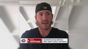 Hoffman souhaitait revenir dans un marché canadien