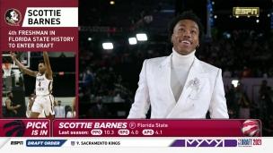 Les Raptors causent la surprise avec Scottie Barnes!