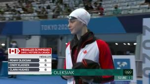 Oleksiak ne peut défendre son titre