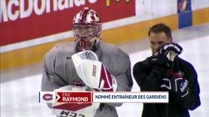 Le CH embauche Éric Raymond comme entraîneur des gardiens