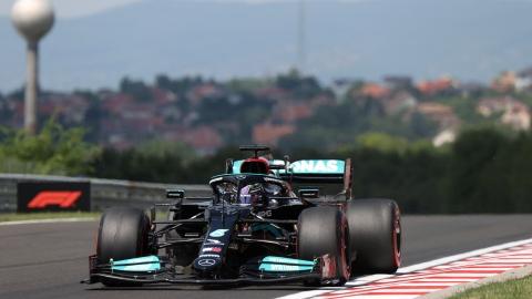 Hamilton partira premier au GP de Hongrie