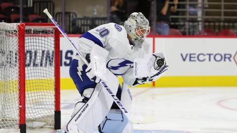 Le Lightning échange un gardien aux Canucks