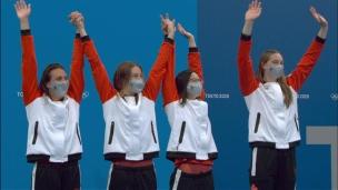 Le Canada en bronze; 7e médaille pour Oleksiak
