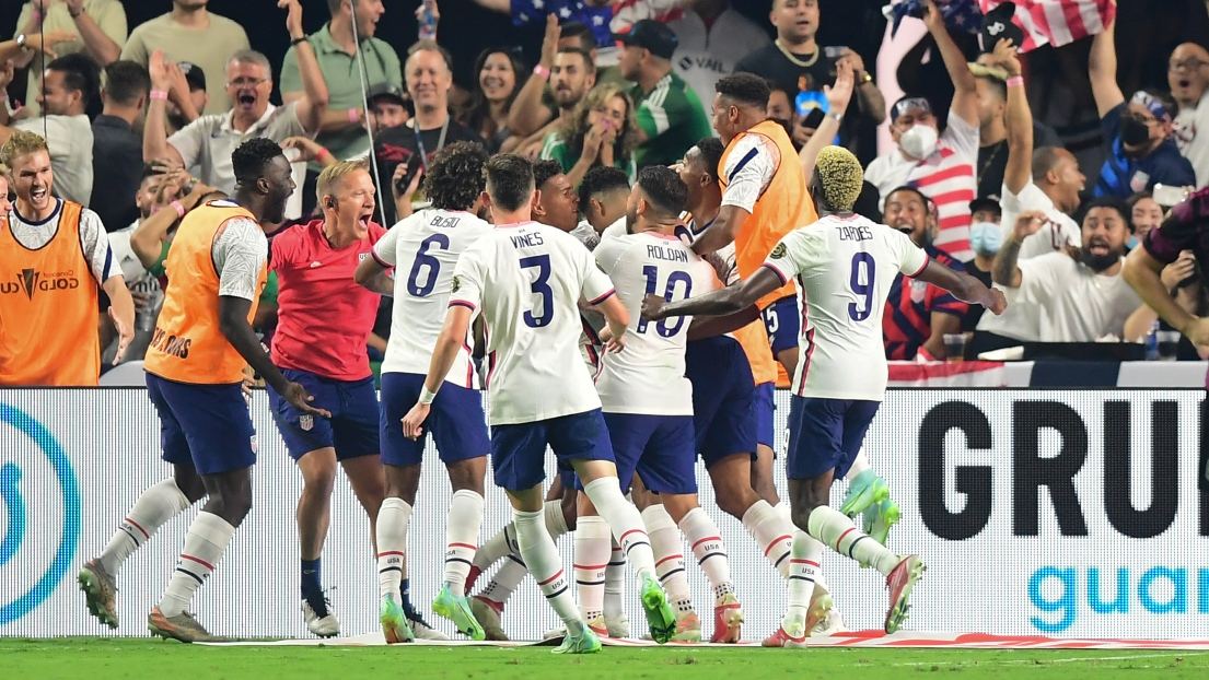 Les États-Unis champions de la Gold Cup 2021