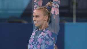 Ellie Black 4e, le bronze pour Simone Biles
