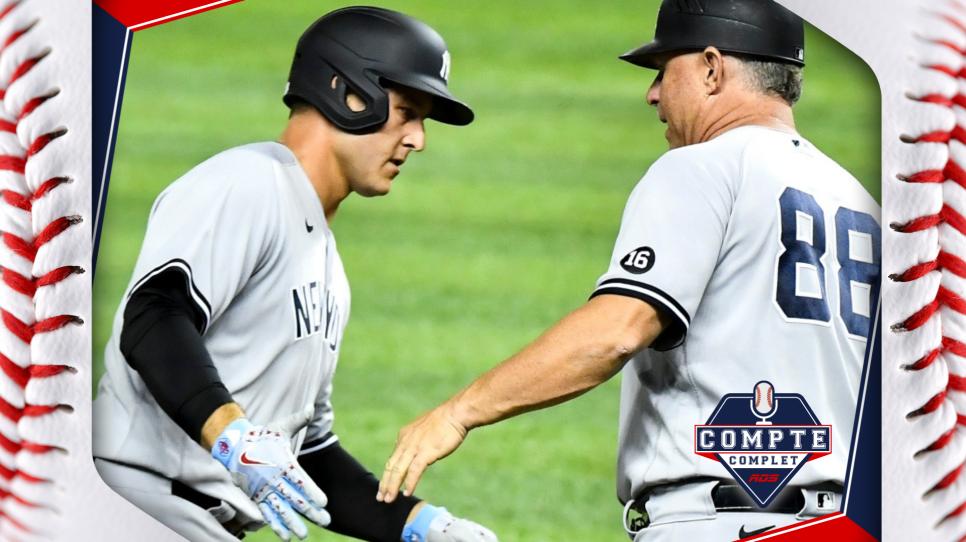 Transactions : les Yankees spectaculaires, les Jays paient cher!