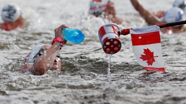 Natation en eau libre : Kate Sanderson 18e