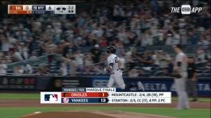 Orioles 1 - Yankees 13