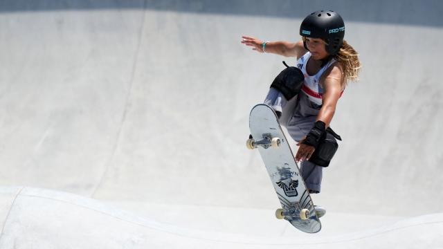 La sensation Sky Brown en bronze à 13 ans