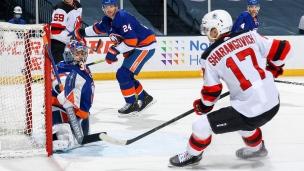 Sharangovich prolonge son séjour au New Jersey