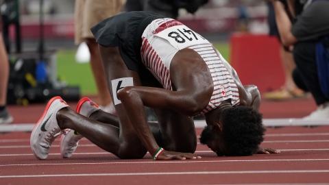 Mohammed Ahmed file vers l'argent au 5000 m