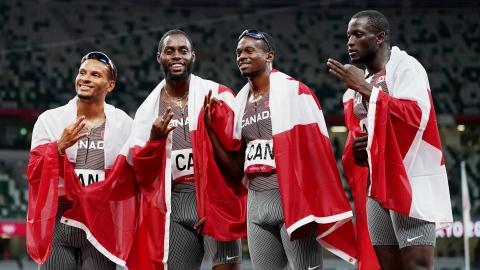 De Grasse remonte et mène le Canada au bronze