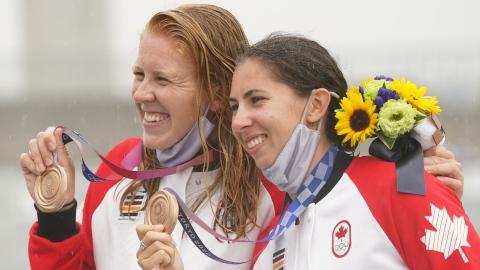 Vincent-Lapointe et Vincent gagnent le bronze