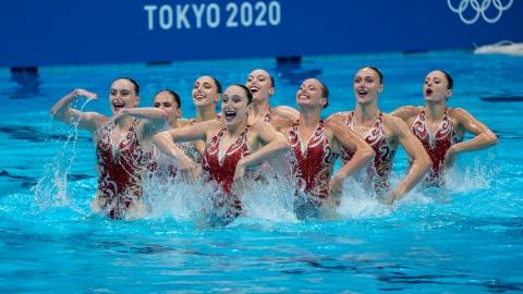 Les Canadiennes confinées au 6e rang, la Russie encore championne