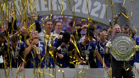 Leicester surprend Manchester City