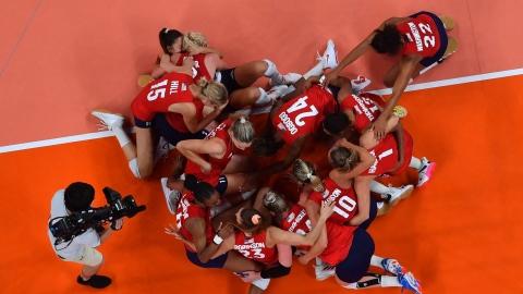 Les Américaines gagnent l'or pour la 1re fois en volleyball