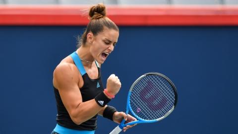 Sakkari s'assure d'une place aux Finales de la WTA