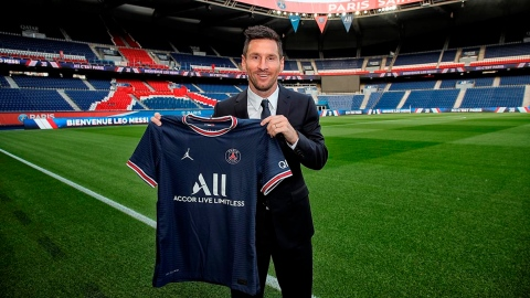 Messi, c'est Paris