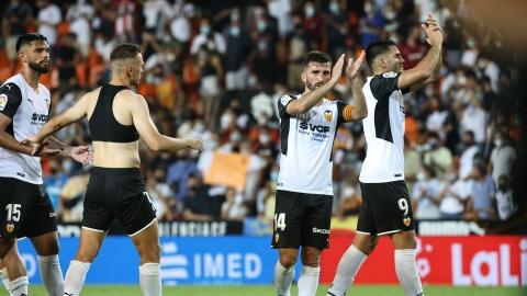 Valence relance la Liga avec une victoire