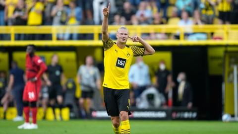 Dortmund lance sa saison sur un festival d'Haaland