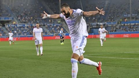 Le Real Madrid réussit sa rentrée à Alavés