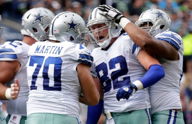 NFL : Witten avec les Cowboys jusqu'en 2021