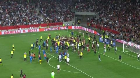Confrontations entre partisans et joueurs à Marseille