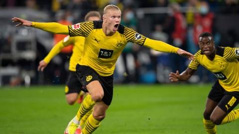 Haaland sauve Dortmund d'un mauvais pas
