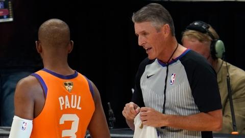 NBA : les arbitres devront être vaccinés
