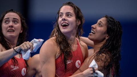 Les Canadiennes remportent le bronze au relais