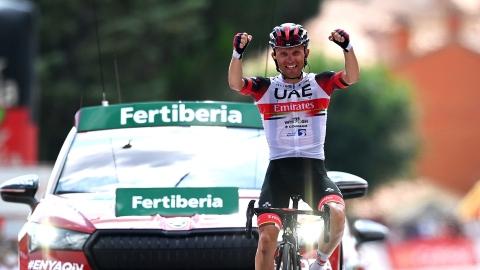Vuelta : la 15e étape pour Majka, Eiking reste en rouge