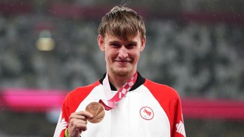 Gingras remporte le bronze au 400 mètres