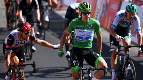 Une troisième victoire d'étape pour Jakobsen