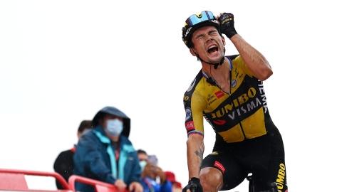Tour d'Espagne : Primoz Roglic repasse en tête