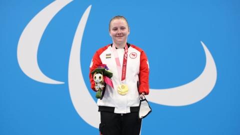 Danielle Dorris remporte une médaille d'or