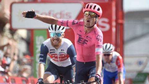 Troisième victoire d'étape pour Cort Nielsen