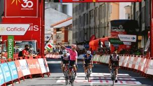 Cort Nielsen signe une 3e victoire d'étape sur la Vuelta