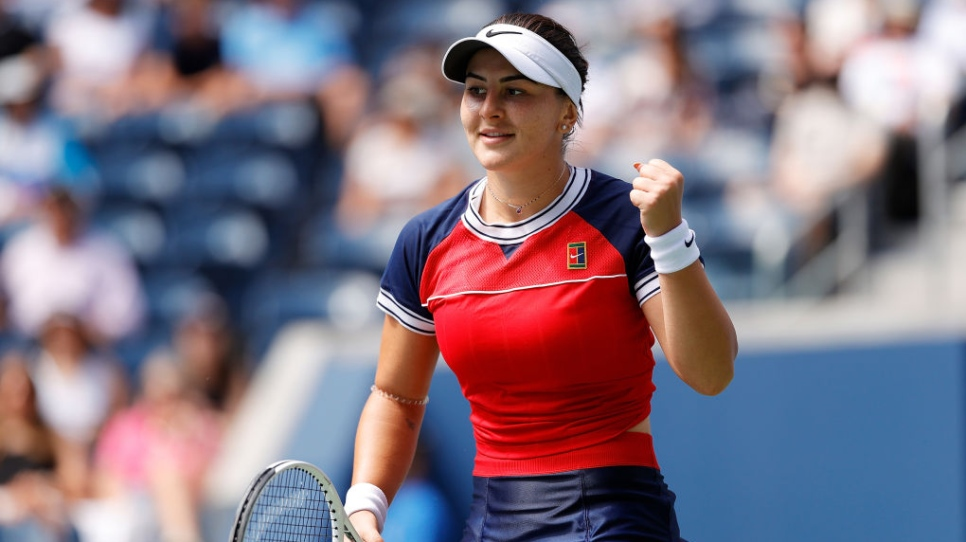 Bianca Andreescu au 4e tour en 67 minutes