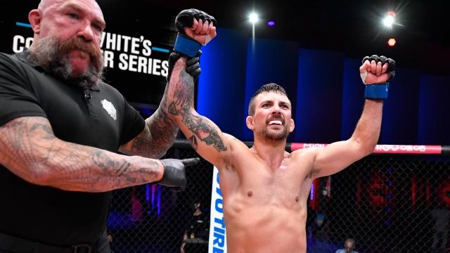 Le Canadien Anheliger a mérité un contrat avec l'UFC