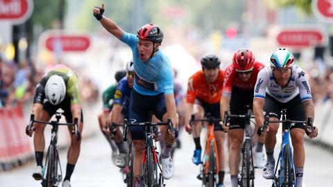 Tour de Grande-Bretagne : Hayter remporte l'étape et le maillot