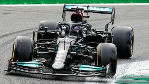 Hamilton devance Verstappen aux essais à Monza