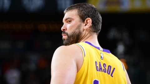 Les Lakers se défont du contrat de Marc Gasol