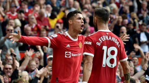 Ronaldo signe un doublé à son retour avec ManU