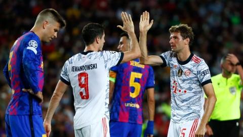 Le Bayern s'amuse encore au Camp Nou